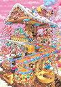TEN-DPG266-574 ディズニー おかしなおかしの家(オールキャラクター) 266ピース ジグソーパズル [CP-D]
