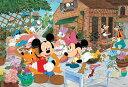TEN-DK96-032 ディズニー みんなでガーデニング (ミッキー・ミニー) 96ピース 子供用パズル [CP-D]
