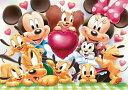 TEN-D200-901 ディズニー みんなでハイ、チーズ!!(ミッキー) 200ピース ジグソーパズル [CP-D]