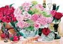 YAM-05-1012 柘植彩子 薔薇の靴 500ピース ジグソーパズル パズル Puzzle ギフト 誕生日 プレゼント