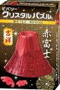 BEV-50206 クリスタルパズル 赤富士 40ピース 立体パズル パズル Puzzle ギフト 誕生日 プレゼント