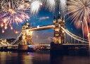 EPO-79-352s 風景 ロンドン 大晦日の花火 500ピース ジグソーパズル パズル Puzzle ギフト 誕生日 プレゼント