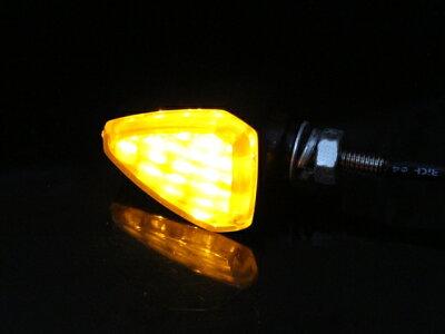 LEDトライアングルウインカー|モンキーグロムズーマーゴリラシャリーダックスエイプXR50XR100モタードマグナ50NSR50NS-1FTR223TW225セローWR250Xグラストラッカー【RCP】10P13Jun14
