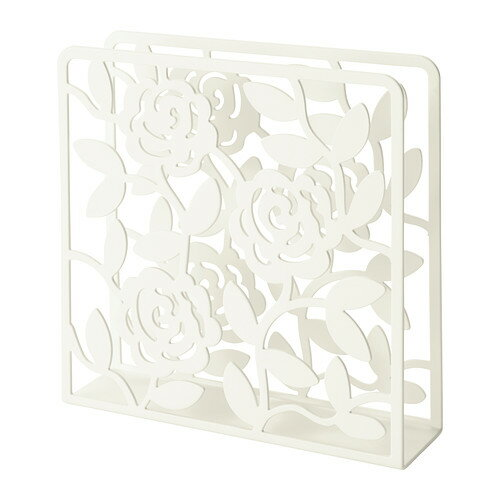 IKEA(イケア)LIKSIDIGナプキンホルダー/ホワイト