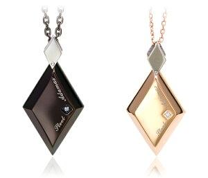 ステンレス ネックレス ランキング ダイヤモンド ブラック ゴールド オーダー アレルギ