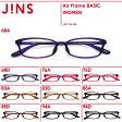 シンプル&ベーシックな超軽量弾力素材のメガネ【Air frame WOMEN BASIC】-JINS(ジンズ)
