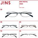 【RIM METAL】リムメタル- JINS ( ジンズ メガネ めがね 眼鏡 )