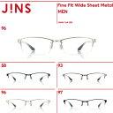 【Fine Fit Wide Sheet Metal】ファインフィット ワイドシートメタル-JINS(ジンズ)