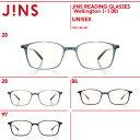 ショッピング軽量 【JINS READING GLASSES -Wellington-】(+1.00)老眼鏡 リーディンググラス-JINS(ジンズ)