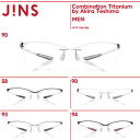 【Combination Titanium by Akira Teshima】-JINS(ジンズ)