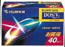 富士フイルム3.5型2HD フロッピーディスク【税込】 MF2HDDVFK40 [MF2HDDVFK40] ...