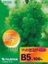 富士フイルムファイングレードマット仕上げ B5 100枚【税込】 SB5100 [SB5100] ...