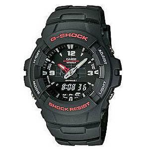 G-100-1BMJF カシオ G-SHOCK BASIC (ベーシック) Gショック デジアナ時計 [G1001BMJF]【返品種別A】