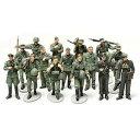 【決算SALE!】タミヤ1/48 WWII ドイツ歩兵行軍セット【税込】 タミヤ WW2ドイツホヘイコ...