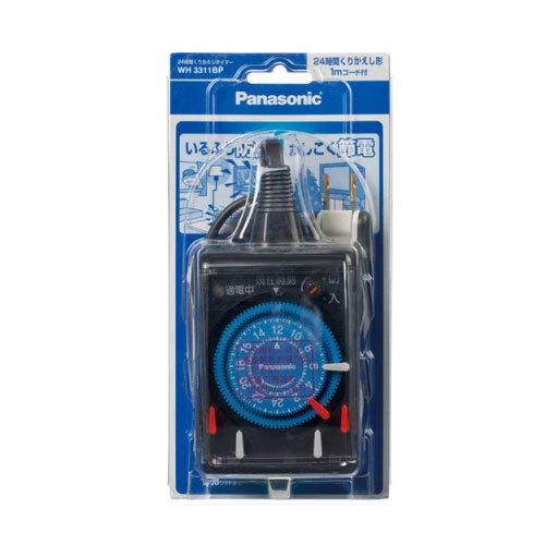WH3311BP パナソニック 24時間くりかえしタイマー Panasonic [WH3311BP]【返品種別A】
