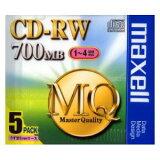 CDRW80MQ.S1P5S【】 マクセル データ用4倍速対応CD-RW 5枚パック 700MB [CDRW80MQS1P5S]【返品種別A】【RCP】