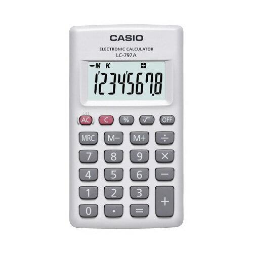 LC-797A-N カシオ カード型電卓 8桁