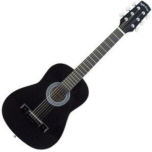 ミニアコースティックギター ブラック