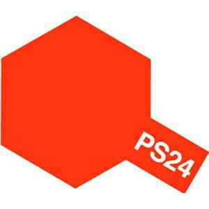 ポリカーボネートスプレー PS-24 蛍光オレンジ 【税込】 タミヤ [タミヤ PS24ケイコウオレンシ]【返品種別B】【RCP】