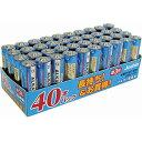 LR6(JS)40PTR【税込】 マクセル アルカリ乾電池単3形 40本パック maxell [LR6JS40PTR]【返品種別A】【RCP】