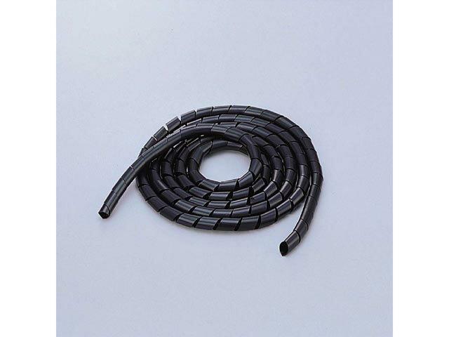 BST-9BK エレコム スパイラルチューブ 2.0m(内径:9mm)(ブラック) [BST9BK]【返品種別A】