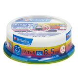 DHR85HP25V1【】 バーベイタム データ用8倍速対応DVD-R DL 25枚パック 8.5GB ホワイトプリンタブル [DHR85HP25V1バベイタム]【返品種別A】【RCP】