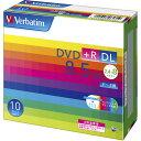DTR85HP10V1 バーベイタム データ用8倍速対応DVD+R DL 10枚パック 片面8.5GB ホワイトプリンタブル [DTR85HP10V1バベイタム]【返品種..
