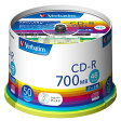 SR80FC50V1【税込】 バーベイタム データ用48倍速対応CD-R 50枚パック 700MB シルバーレーベル [SR80FC50V1]【返品種別A】【RCP】