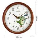 トトロM27-06【税込】 リズム時計 となりのトトロ 掛時計 8MGA27RH06 [トトロM2706]【返品種別A】【送料無料】【RCP】