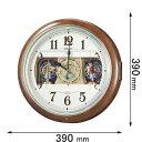 RE-559-H セイコークロック からくり時計 [RE559H]【返品種別A】【送料無料】