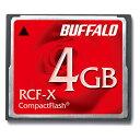 RCF-X4G【税込】 バッファロー コンパクトフラッシュ 4GB [RCFX4G]【返品種別A】【送料無料】【RCP】