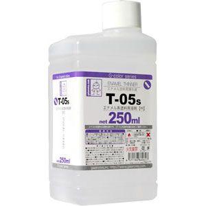 T-05s エナメル系溶剤 【中】【86061】 ガイアノーツ [GN T05Sエナメルヨウザイ]【返品種別B】