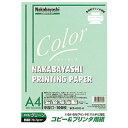 HCP-4101-G ロアス コピー&プリンタ用紙 A4カラータイプ(グリーン) HCP4101Gロアス 【返品種別A】