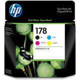 CR281AA【】 ヒューレット・パッカード HP178 インクカートリッジ 4色マルチパック HP178 [CR281AA]【返品種別A】【】【RCP】