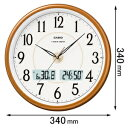 ITM-200J-5JF【税込】 カシオ 掛時計 [ITM200J5JF]【返品種別A】【送料無料】【RCP】