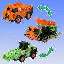 VooV(ブーブ) 【VM01】日立建機 リジットダンプトラック(EH3500ACII) ~ ホイールローダ (ZW220) 【税込】 バンダイ [VM01ヒタチケンキホイールローダ]【返品種別B】【RCP】