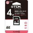 TDK SDHCメモリーカード 4GB Class4 [TSDHC4GB4]