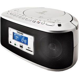 TY-CR50【税込】 東芝 SD/USB/CDラジオ CUTEBEAT [TYCR50]【返品種別A】【RCP】【送料無料】