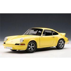 1/18 ポルシェ 911 カレラ RS 2.7 1973 ライトイエロー【78056】 【税込】 オートアート [Aa 78056 ポルシェ RS 2.7 1973 イエロー]【返品種別B】【送料無料】【RCP】