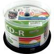 HDCR80GP50【税込】 HI-DISC データ用700MB 52倍速対応CD-R 50枚パック ホワイトプリンタブル ハイディスク [HDCR80GP50]【返品種別A】【RCP】