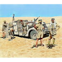 1/35 英・長距離挺身隊LDGデザートシボレー乗員北アフリカ5体【MB3598】 マスターボックス [バウマン MB3598 イギリス ジョウイン]【返品種別B】