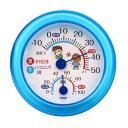 TR-103B【税込】 クレセル インフルエンザ・熱中症対策 温湿度計(ブルー) CRECER [TR103B178902]【返品種別A】【RCP】