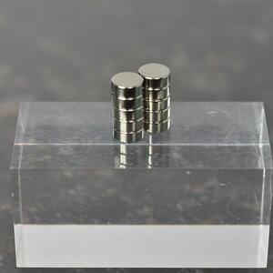 ネオジム磁石丸形 直径5mm-高さ2mm(10個入)【MGN5020】 【税込】 ハイキューパーツ [ネオジムジシャクマルケイ 5ー2]【返品種別B】【RCP】