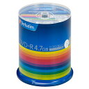 DHR47JP100V3 バーベイタム データ用16倍速対応DVD-R 100枚パック 4.7GB