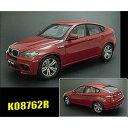 1/18 BMW X6M E71M 2009 メルボルンレッド【K08762R】 【税込】 京商 [K08762R BMW X6M E71M]【返品種別B】【送料無料】【RCP】