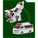 ダイヤロボ DR-0003 トヨタハイエース 救急車 メディカルレックス 【税込】 アガツマ [DR0003ハイエースキュウキュウシ]【返品種別B】【RCP】