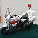 【再生産】1/12 完成品バイク CB1300P(白バイ)【95355】 【税込】 アオシマ [ABK 95355 CB1300P シロバイ]【返品種別B】【RCP】