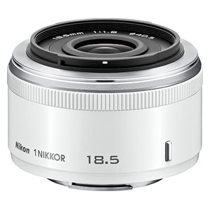1N18.5F1.8-WH ニコン 1 NIKKOR 18.5mm f/1.8 ホワイト ※ニコン1マウント用レンズ