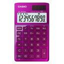 SL-Z1000-PK-N【税込】 カシオ デザイン電卓 10桁(ピンク) CASIO [SLZ1000PKN]【返品種別A】【RCP】