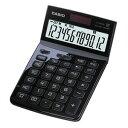JF-Z200-BK-N【税込】 カシオ デザイン電卓 12桁(ブラック) CASIO [JFZ200BKN]【返品種別A】【RCP】